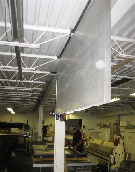 industrial sound curtains acoustiblok inc launches quiet cloud 174 industrial sound absorbing panels