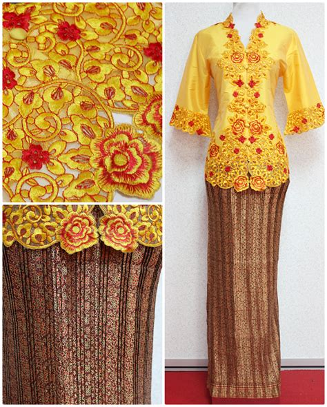 Kebaya Avantie Songket Skirt 310 l xl size kebaya empire of elegance