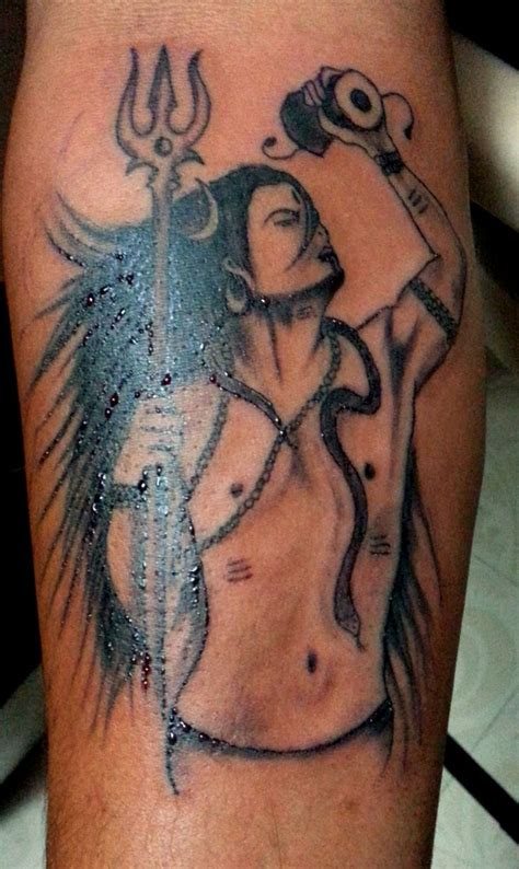 shiva tattoo lord shiva tattoos