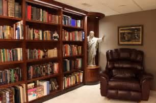 Custom Bookshelves for Private Library   Contemporary   Family Room   chicago   by Altare Design