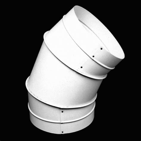 45 degree standing seam elbows and angles sheet metal