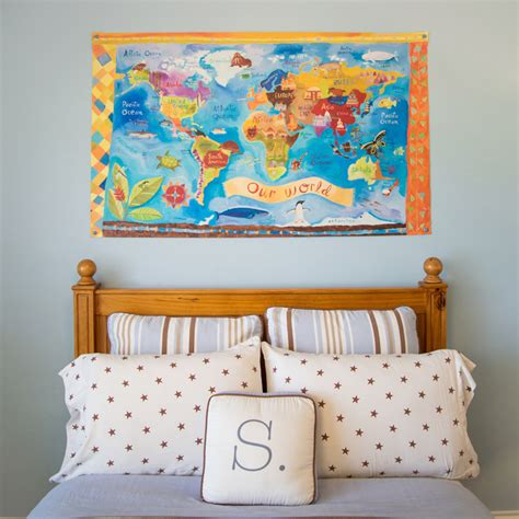 canvas wall murals our world canvas wall mural by oopsy rosenberryrooms