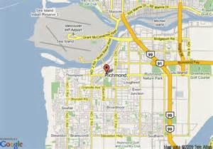 richmond canada map map of executive airport plaza richmond richmond