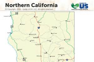 northern california map northern california maps