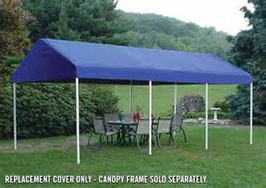 10x20 Canopy Replacement Top by 10x20 Decorative Canopy Replacement Top For 1 3 8 Quot Frame