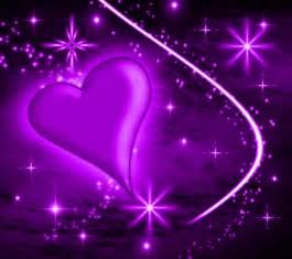 Purple heart with plasma stars background 1800x1600 background image
