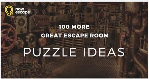 100 escape room puzzle ideas nowescape - 100 Escape Room Puzzle Ideas