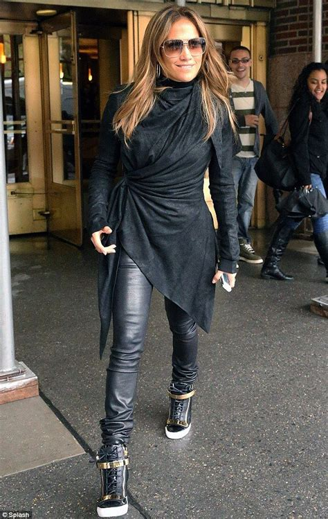 Always In Fashion Luxurious Leather Bglam by She Ll Always Be From The Block J Lo Slips Back