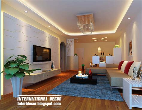 False Ceiling Designs For Living Room Interior Design 2014 Top 10 Suspended Ceiling Tiles Lighting Pop Designs For Living Room 2014
