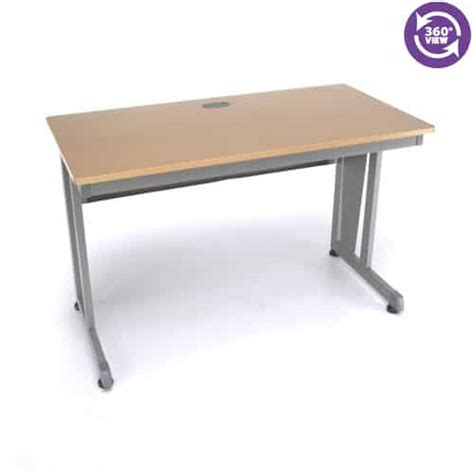 24 by 48 table modular computer privacy table 24 quot x 48 quot industrial manlifts