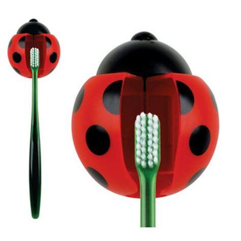 Bug Creative Toothbrush Holder Organizer 2 ladybug toothbrush holder front company
