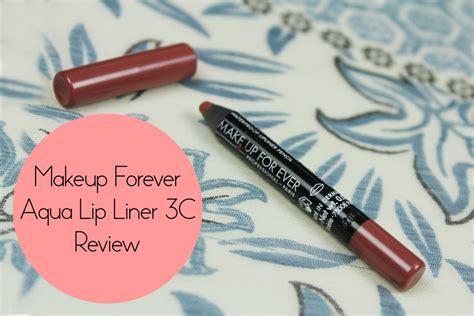 Lip Liner Review Harga makeup forever aqua lip liner 3c review swatch price