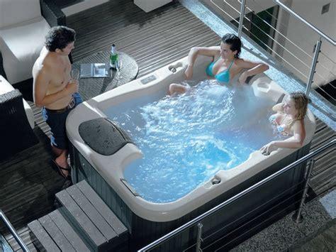 vasche idromassaggio economiche minipiscina con idromassaggio a 3 posti sun gruppo geromin