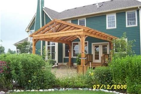 Gable Pergola Plans Woodwork Gable Roof Pergola