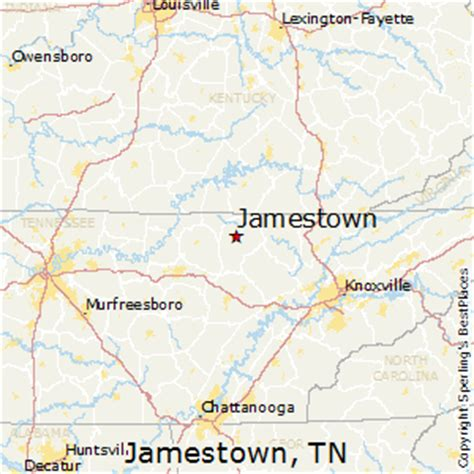 jamestown kentucky map related keywords suggestions for jamestown tn map
