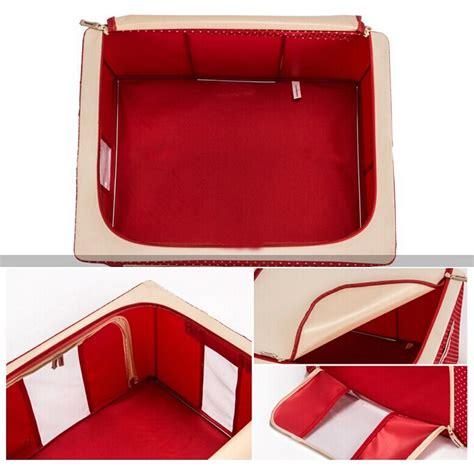 Bag Penyimpan Pakaian kotak penyimpanan pakaian foldable cloth storage organizer