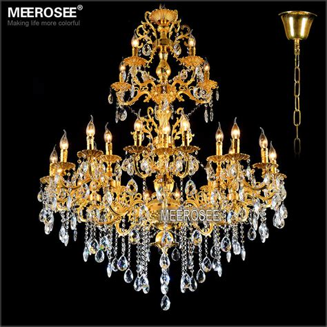 Light Fixtures And Chandeliers Aliexpress Buy Luxurious Gold Large