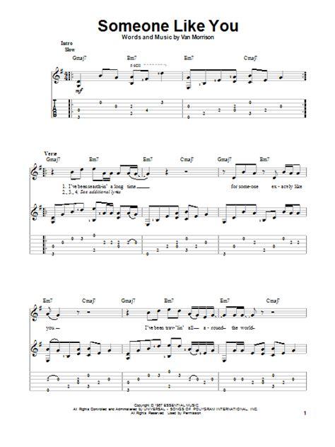Tutorial Guitar Someone Like You   someone like you sheet music direct