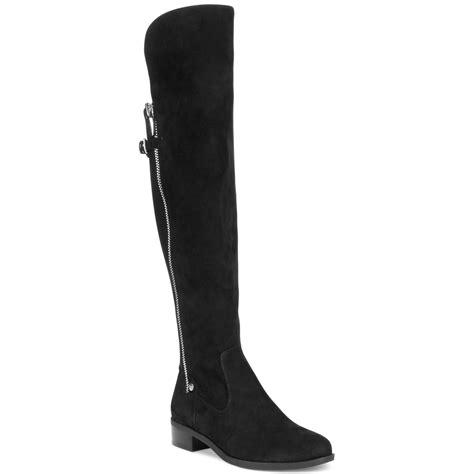 calvin klein boots calvin klein gladys wide calf boots in black black