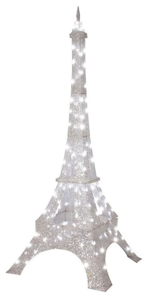 Eiffel Tower Decorations by Gemmy Eiffel Tower Outdoor Twinkling Led