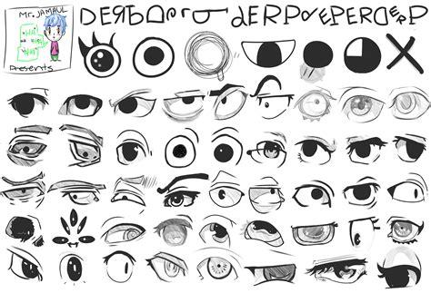 anime cartoon eye references by mr jamaul on deviantart