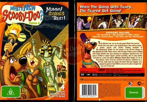 best new on dvd whats new scooby doo vol 4 mummy scares best new dvd