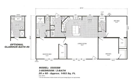 cavalier mobile home floor plans 28 images cavalier