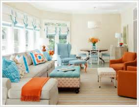 color psychology decorating with orange