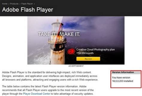 check flash version chrome kiểm tra phi 234 n bản adobe flash player tr 234 n tr 236 nh duyệt