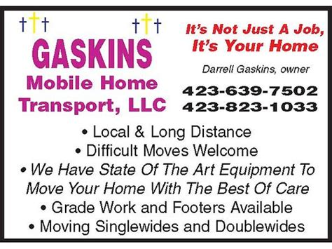i ll move it gaskins mobile home transport