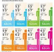 Bike Frame Size Chart