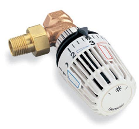 valvole termostatiche per i termosifoni per il risparmio
