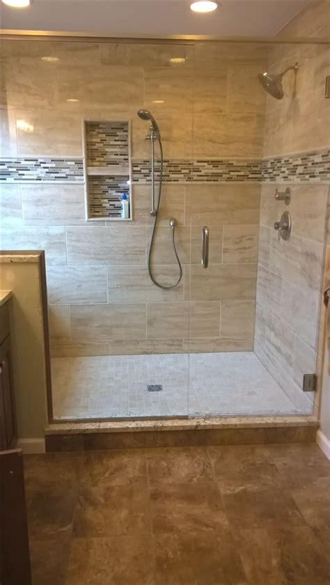 Best Large Tile Shower Ideas Only On Pinterest Master Bathroom Ideas Shower Only