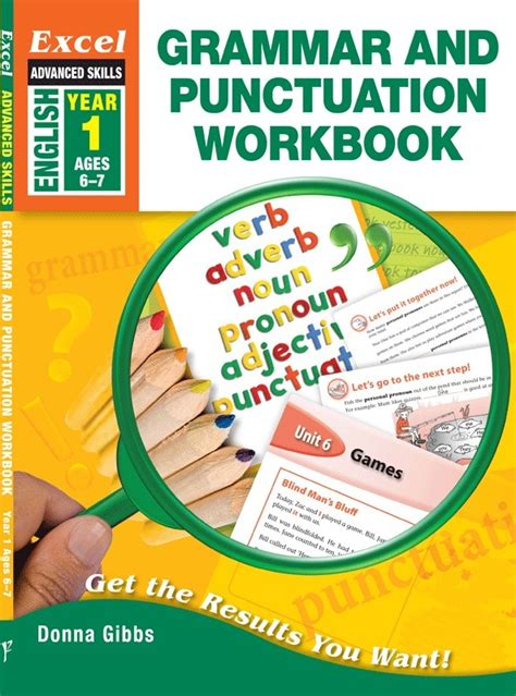 grammar and punctuation year 1407140728 excel advanced skills grammar and punctuation workbook year 1 pascal press educational
