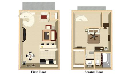 1 bedroom apartment floor plan one bedroom loft apartment floor plans
