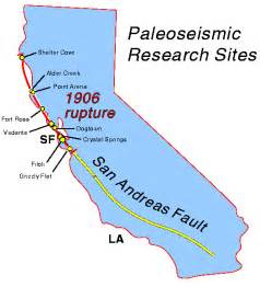 san andreas fault line map california new information about the san andreas fault