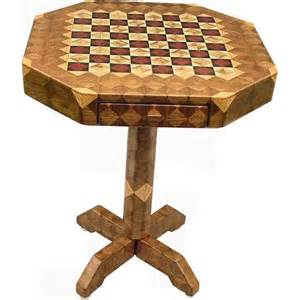 small chess checker table