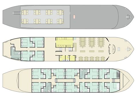 Double Wide Floor Plan by Ave Maria Comfort Plus Class Barge Boat For Bike Barge