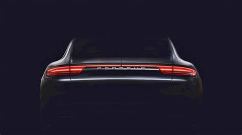 Porsche R Ckleuchten by 2017 Porsche Panamera Teaser