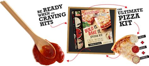 make it bake it kits build it bake it pizza kit the ultimate make it your own pizza kit
