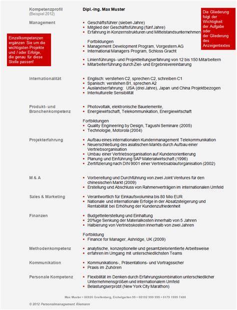 Kompetenzprofil Bewerbung Erstellen Beispiele Zum Kompetenzprofil Personalmanagement Riemann