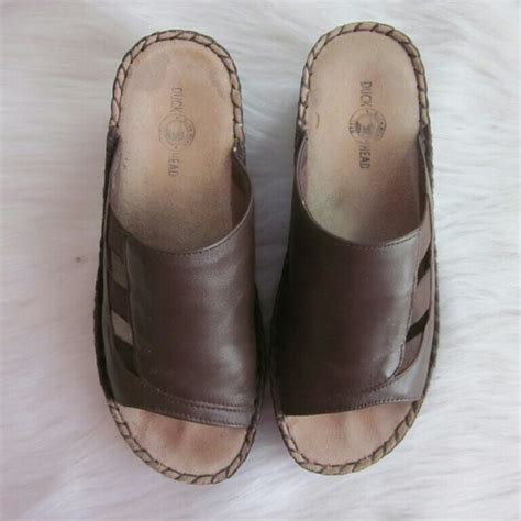 duck sandals 80 duck shoes sale duck brown