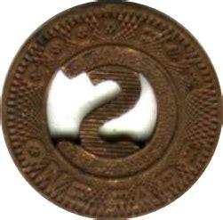 1 fare colorado springs transit co tokens numista
