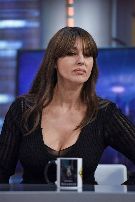 monica bellucci monica bellucci at el hormiguero tv shoe in madrid 07 04 2017 hawtcelebs