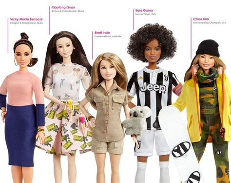 katherine johnson nasa barbie history s inspirational women are being made into barbies