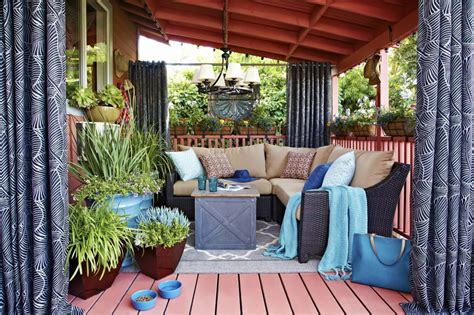 outdoor living space ideas deck design ideas and tips for small spaces