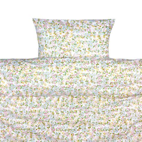 cot bed duvet original floral toddler cot bed duvet set by lulu and nat