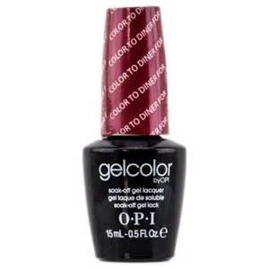 opi gelcolor nail polish color to diner for 0 5 fluid