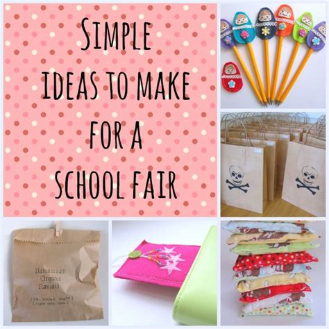 easy crafts for to make at school school fair ideas goodsell school fair pta