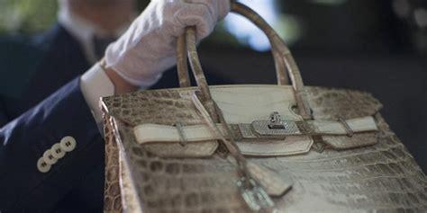 Tas Hermes Birkin Diamind 335 Hermes Lelang Tas Langka Dari Kulit Buaya Putih